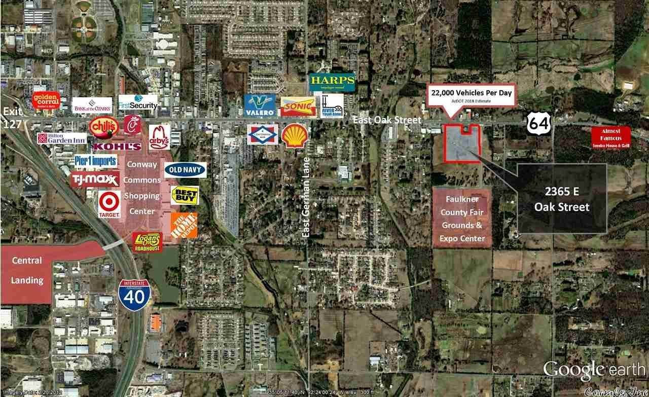 Vacant land for Sale at 2365 E Oak Street Conway, Arkansas 72032 United States