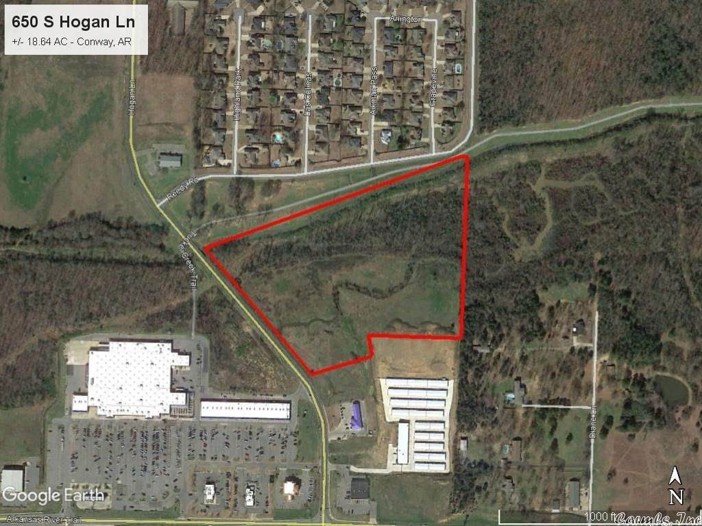 Vacant land for Sale at 650 S Hogan Lane Conway, Arkansas 72034 United States