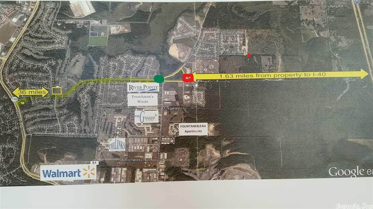 Vacant land for Sale at 9251 Intersection of White Oak Crossing & Diamond Park Street Maumelle, Arkansas 72113 United States