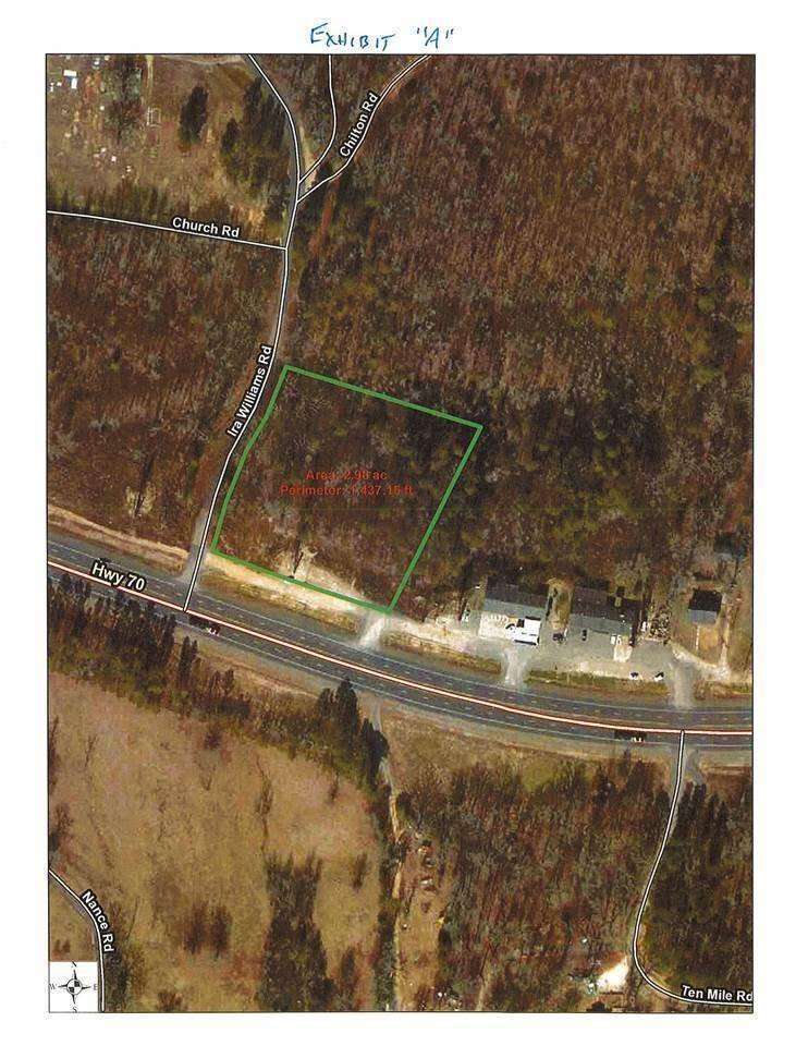 Vacant land for Sale at 3 acres HWY 70 and Ira Williams Lonsdale, Arkansas 72087 United States