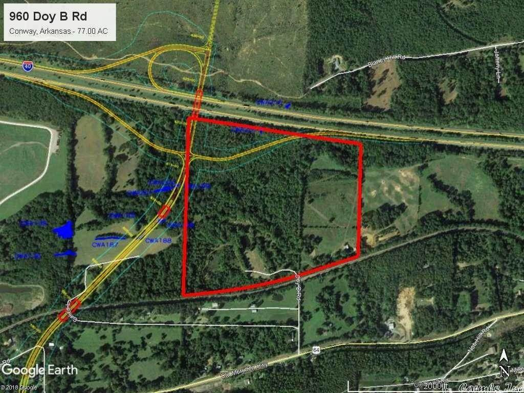 Vacant land for Sale at 960 Doy B Road Conway, Arkansas 72032 United States