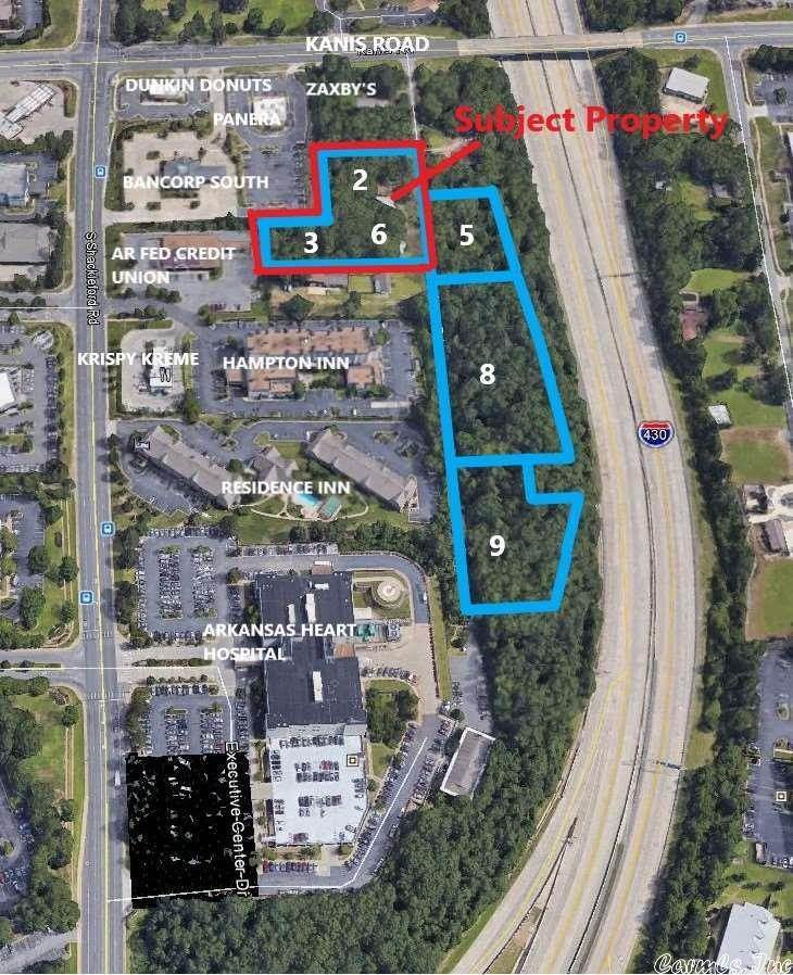 Vacant land for Sale at 1222 & 1224 Kaufman Little Rock, Arkansas 72211 United States