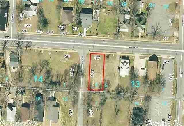 Vacant land for Sale at 3121 W 12th Street Little Rock, Arkansas 72204 United States