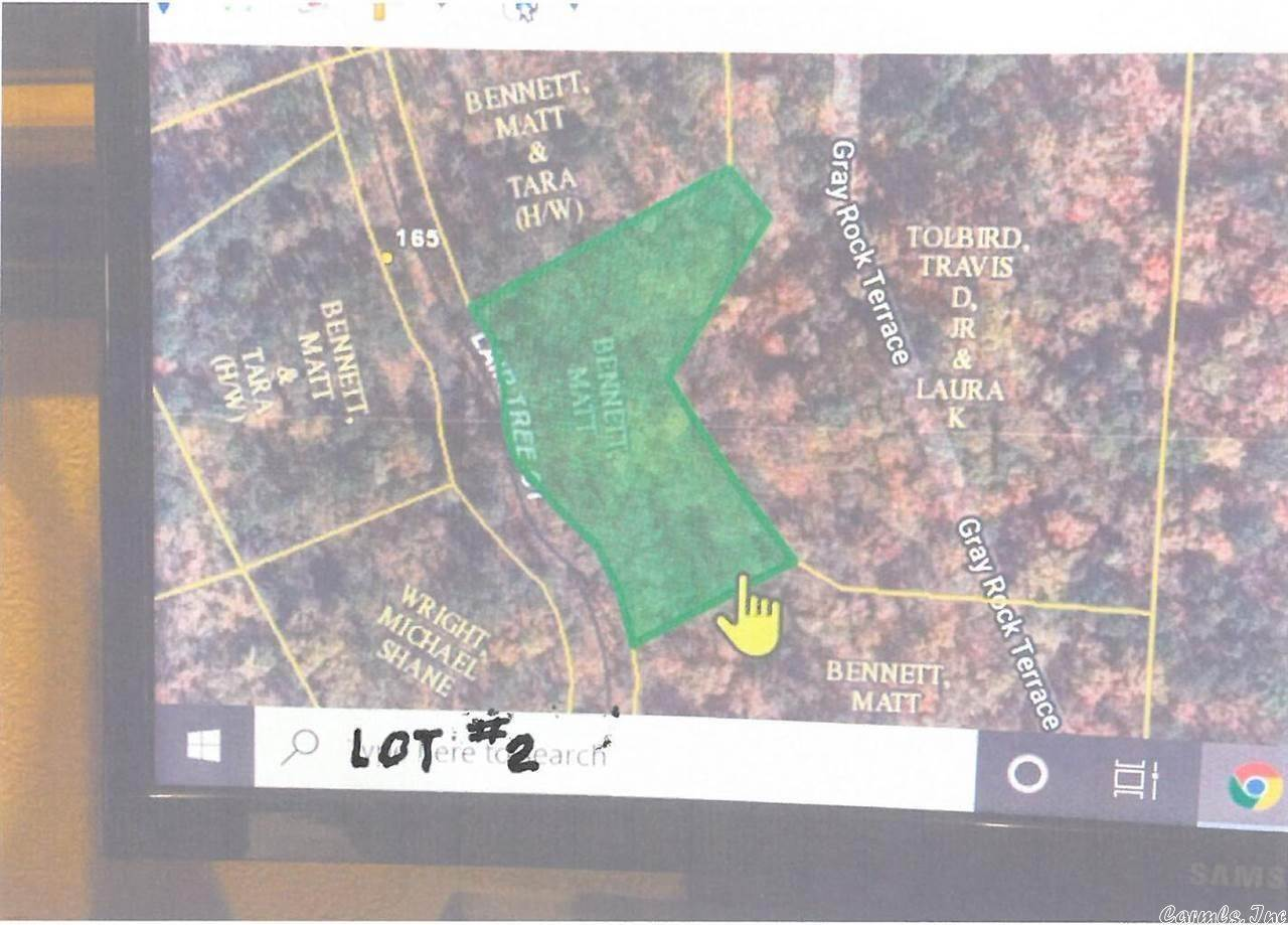 Vacant land for Sale at Lot 2 Lair Tree Mountain Pine, Arkansas 71956 United States