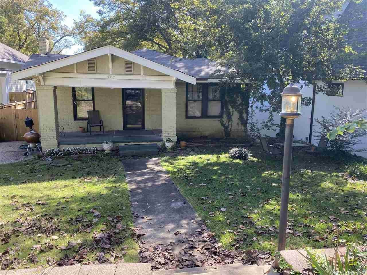 Residential for Sale at 4319 S Lookout Street Little Rock, Arkansas 72205 United States