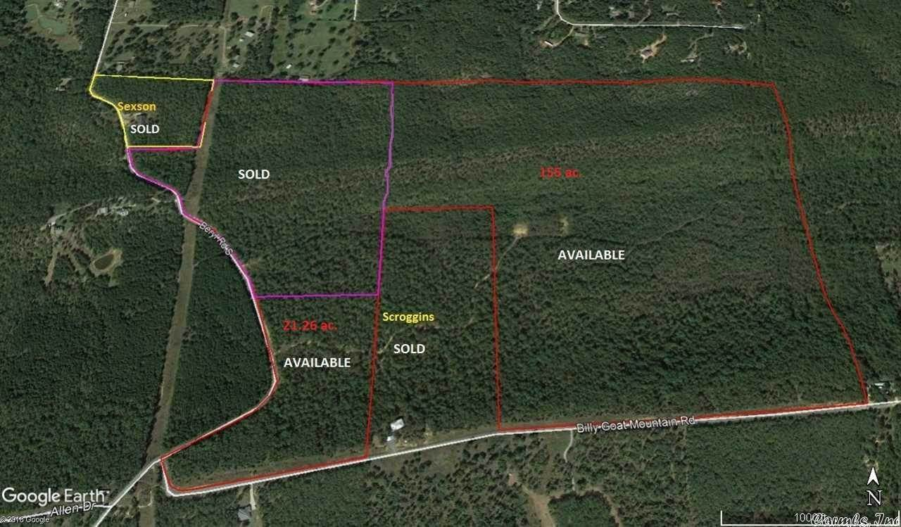 Vacant land for Sale at Billy Goat Mtn. Road Vilonia, Arkansas 72173 United States