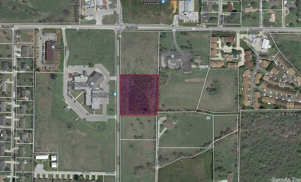 Vacant land for Sale at 2.25 Acres Arbor Drive Harrison, Arkansas 72601 United States