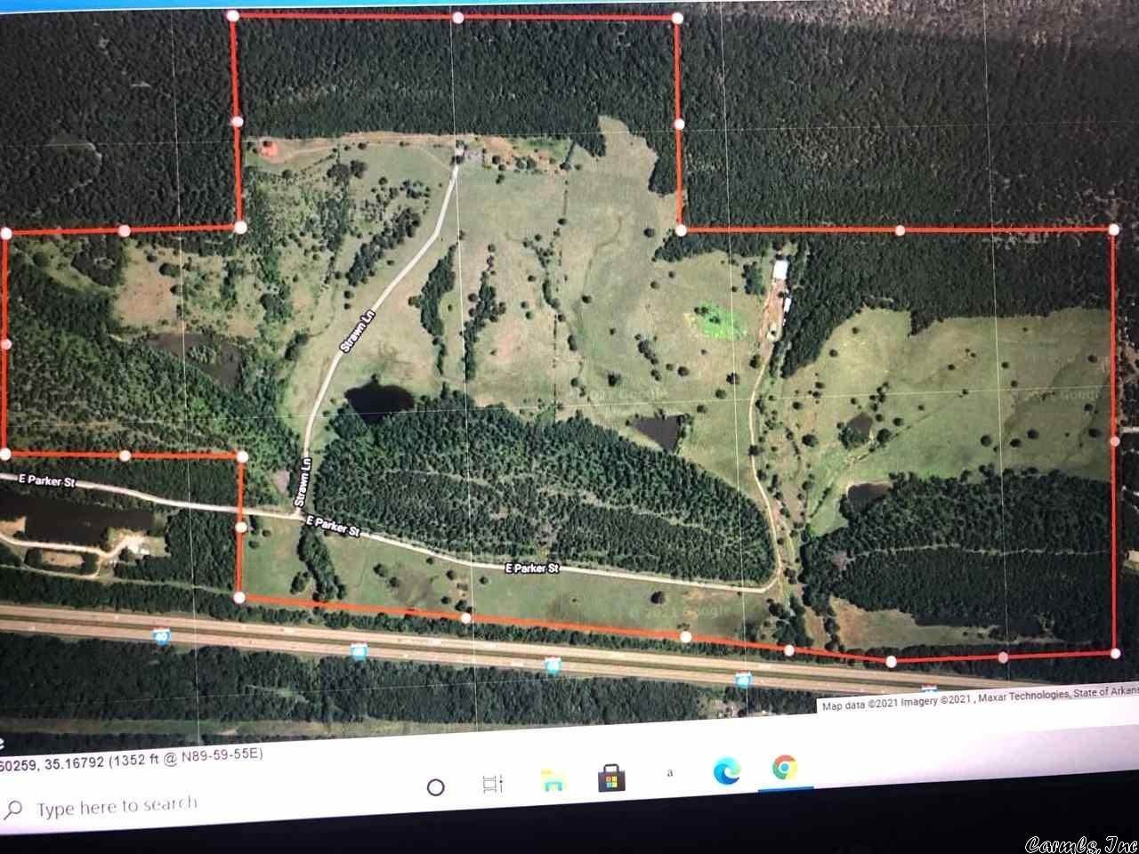 Vacant land for Sale at 789 Parker Road Plumerville, Arkansas 72127 United States