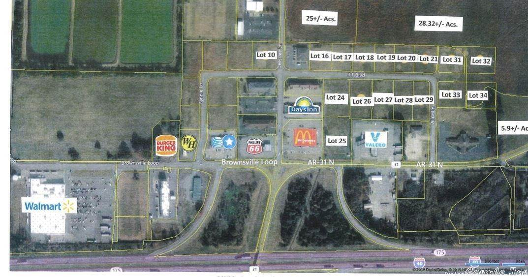 Vacant land for Sale at Lot 25 Hwy 31N Lonoke, Arkansas 72086 United States