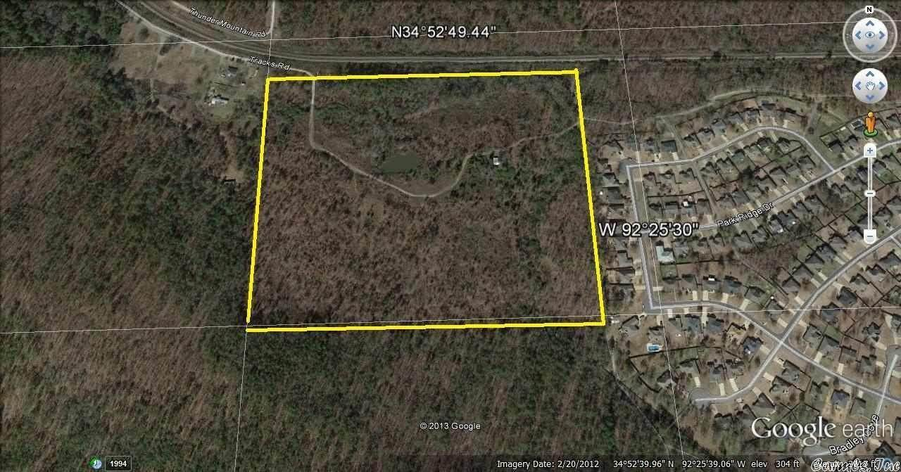 Vacant land for Sale at Tracks Road Maumelle, Arkansas 72113 United States