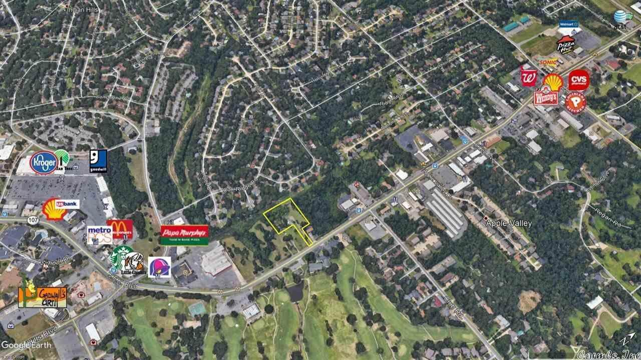 Vacant land for Sale at 7601 Highway 107 Sherwood, Arkansas 72120 United States