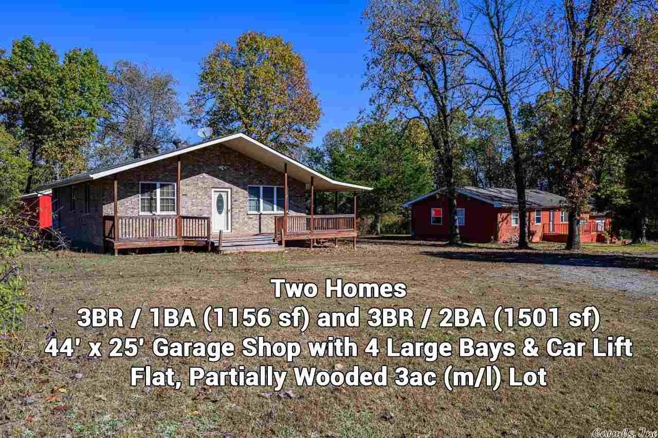 Single Family Homes for Sale at 2411 Hwy 178 Midway, Arkansas 72651 United States
