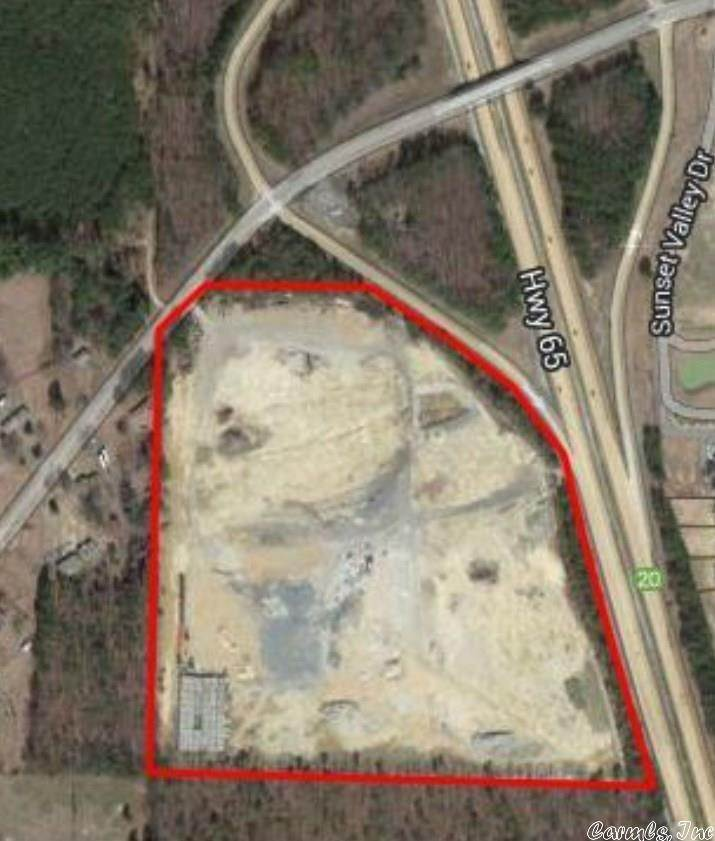 Commercial / Industrial for Sale at SW of Sheridan Rd. and Hwy 65 Road Redfield, Arkansas 72132 United States