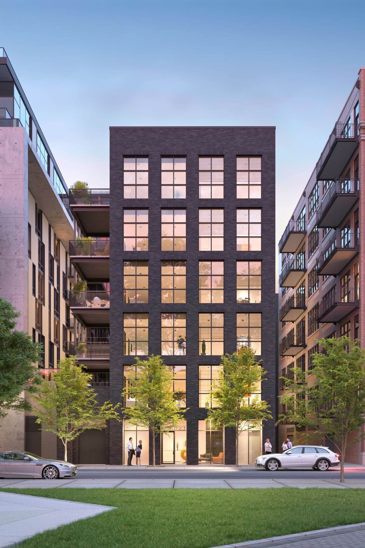 Condominiums for Sale at Peoria Green - West Loop New Construction 123 S Peoria Street, Unit 3P Chicago, Illinois 60607 United States